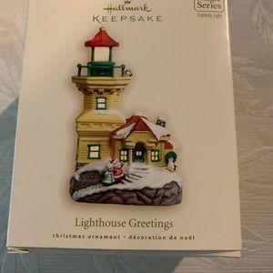 Hallmark Lighthouse Ornament